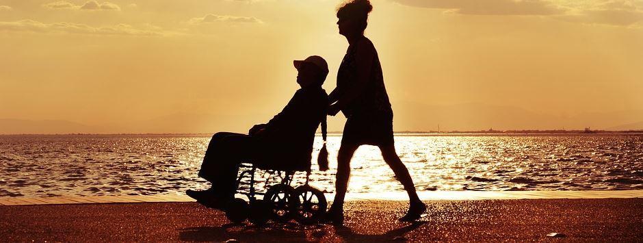 Hublift Rollstuhl
